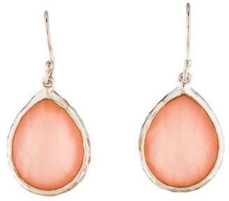 Ippolita Doublet Rose Quartz Teardrop Earrings