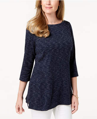 Karen Scott Space-Dyed Tunic, Created for Macy's
