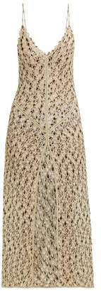 Missoni Mare - Fishscale Lace Knitted Maxi Dress - Womens - Multi