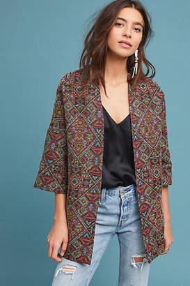 Helene Berman London Tapestry Kimono Jacket