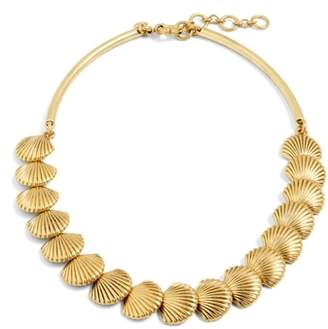 J.Crew J. CREW Seashell Collar Necklace