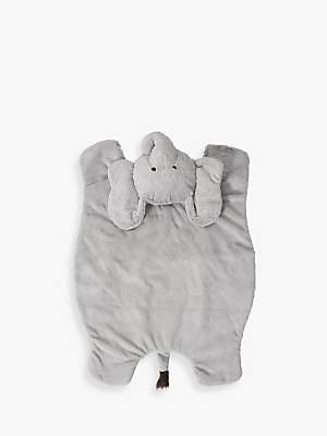 Pottery Barn Kids Plush Elephant Activity Play Mat