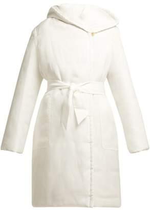 Max Mara Parola Coat - Womens - White