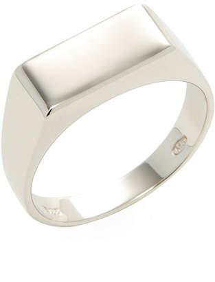 Mateo Bijoux Rectangular Signet Ring