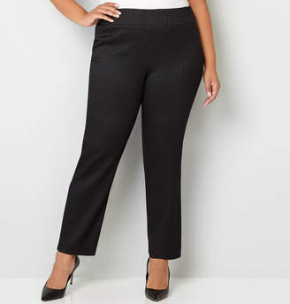 Avenue Diamond Super Stretch Pull-On Pant with Tummy Control
