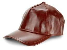 0d2b28ca67d Rag   Bone Marilyn Leather Baseball Cap