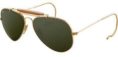 Ray-Ban® Outdoorsman - Gold Sunglasses