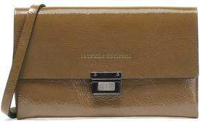 Brunello Cucinelli Patent-Leather Shoulder Bag