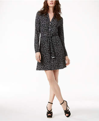 Michael Kors MICHAEL Printed Shirtdress in Regular & Petite Sizes