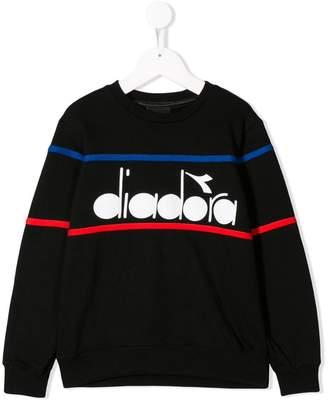 Diadora (ディアドラ) - Diadora Junior ロゴ スウェットシャツ
