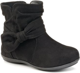 Jumping Beans® Toddler Girls' Slouch Bow Boots $44.99 thestylecure.com