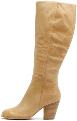 Django & Juliette Rowdy Tan Boots Womens Shoes Dress Long Boots