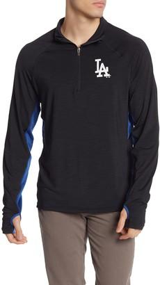 '47 MLB Los Angeles Dodgers Quarter Zip Pullover