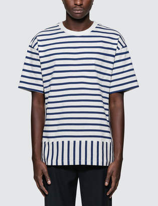Public School Daryl Striped S/S T-Shirt
