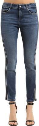 Alexander McQueen Skinny Japanese Cotton Denim Jeans