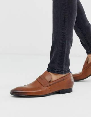 Ted Baker gaelah loafers in tan
