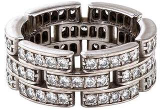 Cartier Diamond Maillon Panthère Ring