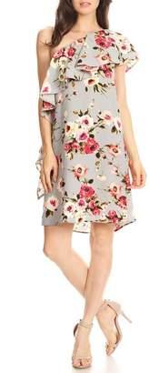 Blvd One Shoulder Dress