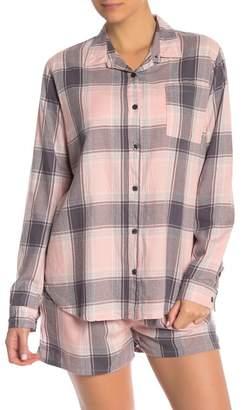 PJ Salvage Plaid Please Flannel PJ Shirt