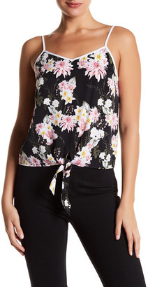 Kensie Floral Tie Tank $59 thestylecure.com