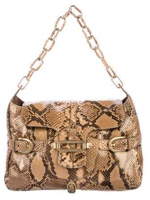 Jimmy Choo Snakeskin Tulita Bag