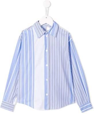 Marni asymmetrical shirt