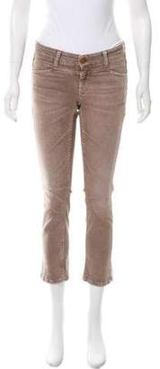 Closed Low-Rise Straight-Leg Jeans