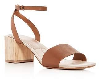 Dolce Vita Women's Zarita Leather Block Heel Sandals