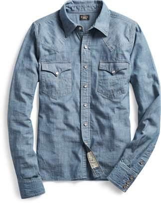 Ralph Lauren Indigo Chambray Western Shirt