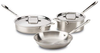 All-Clad Stainless Steel 5 Piece Cookware Set