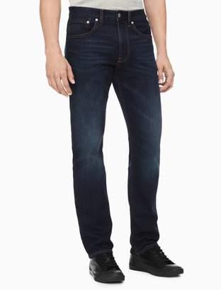 Calvin Klein Straight Houston Dark Blue Jeans
