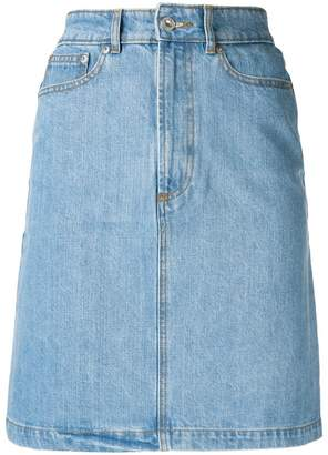 Être Cécile high waisted denim skirt