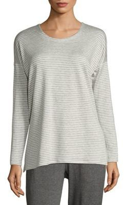 Eileen Fisher Striped Box Top $118 thestylecure.com