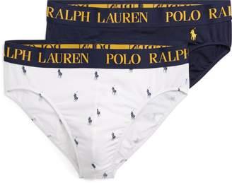 Ralph Lauren Cotton Comfort Brief 2-Pack
