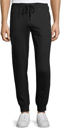Neiman Marcus Men's Drawstring-Waist Cuffed Sweatpants