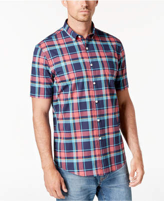 Club Room Men's Landon Plaid Shirt, Created for Macy's