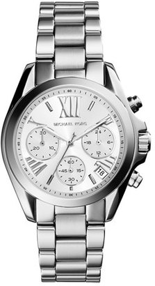 Michael Kors Mini Bradshaw Stainless Steel Watch $250 thestylecure.com