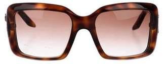 Christian Dior Gradient Tortoiseshell Sunglasses