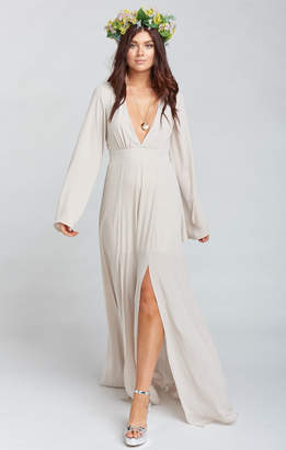 Show Me Your Mumu Venus Long Sleeve Flare Dress ~ Show Me the Ring Crisp