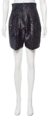 Emporio Armani High-Rise Mini Shorts