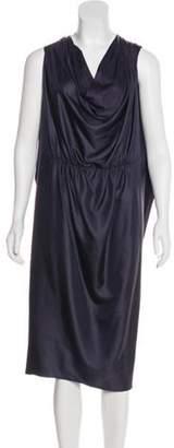 Lanvin Sleeveless Cowl Neck Dress Sleeveless Cowl Neck Dress