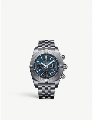Breitling AB0115101C1A1 Chronomat B01 Chronograph 44 steel watch