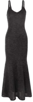 Max Mara Mohair-blend Maxi Dress