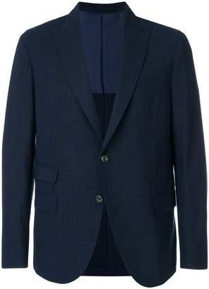 Eleventy stitch detailed blazer