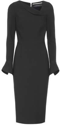Roland Mouret Liman crepe dress