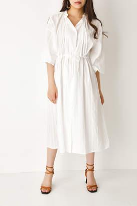 SLY (スライ) - Lace Stripe Cotton Maxi Sh