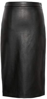 Banana Republic Vegan Leather Pencil Skirt