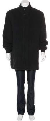Andrew Marc Wool Layered Coat