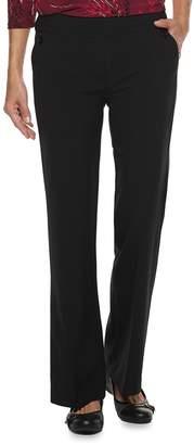 Croft & Barrow Women's Pull-On Bootcut Pants