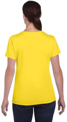 Gildan Ladies/Womens Heavy Cotton Missy Fit Short Sleeve T-Shirt (M)